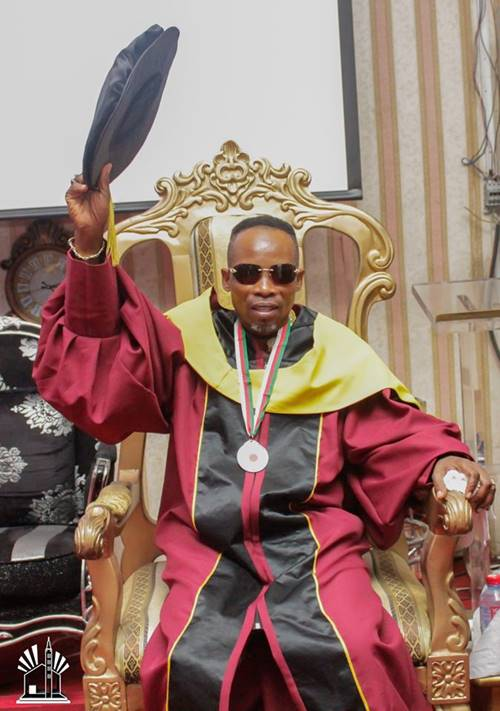 Archbishop Elect Prophet Salifu Amoako Honoured With A doctorate degree