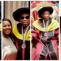 doctorate degree : Archbishop Elect Prophet Salifu Amoako Honoured With A Doctorate