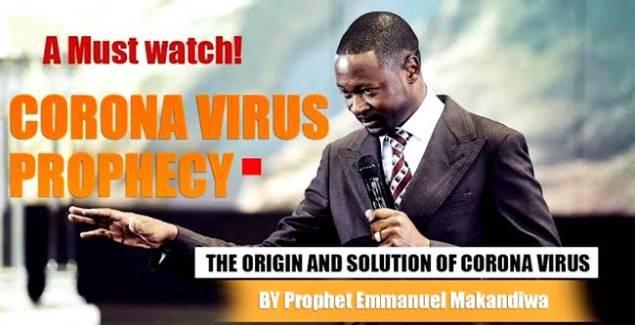 Prophet Emmanuel Makandiwa Foretold Coronavirus (COVID-19) [Video]