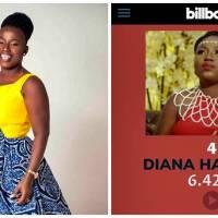 Billboard Chart: Diana Hamilton is Most-viewed Ghanaian Gospel Musician on YouTube