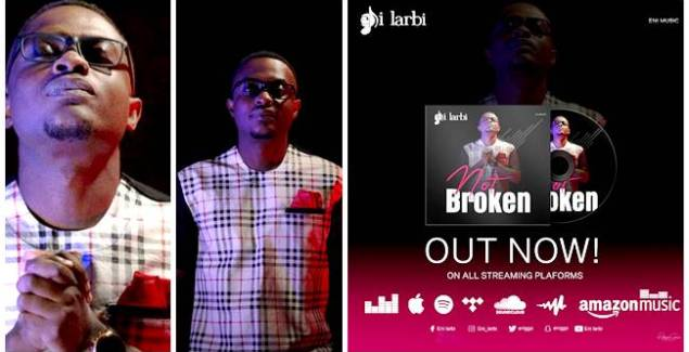 Gospel musician Eni Larbi Bounces Back with 'Not Broken'