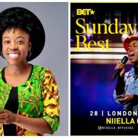 UK Based Ghanaian Gospel Minstrel Niiella Represents Ghana On BET Sunday Best + VIDEO