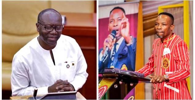 Bishop Elisha Salifu Amoako Predicts the Death of Finance Minister