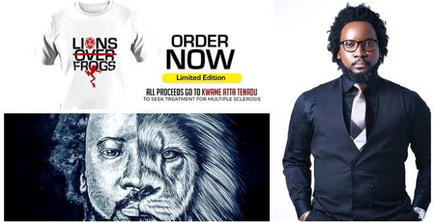 Sonnie Badu Sells 'Lions Over Frogs' T-shirt for $100