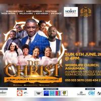 Noble Nketsiah To Celebrate Two Decades In Gospel Music With A Concert & An Album (THE CHRIST) On June 6th, 2021