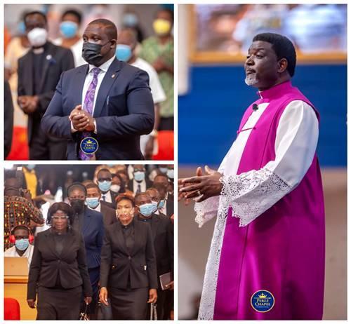Sam George Ordained as Elder of Perez Chapel International