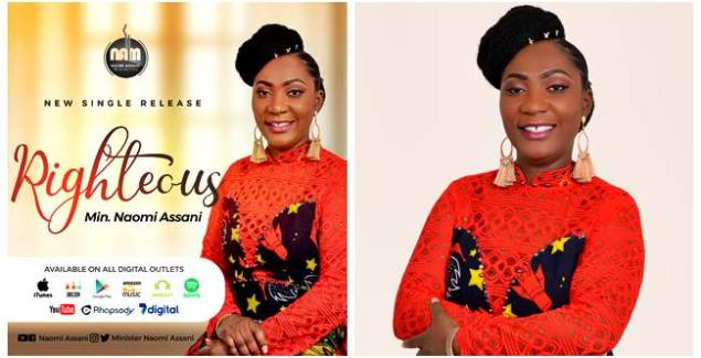 """righteous Gospel's Very Own, Naomi Assani Returns With """"Righteous"""" Single"""