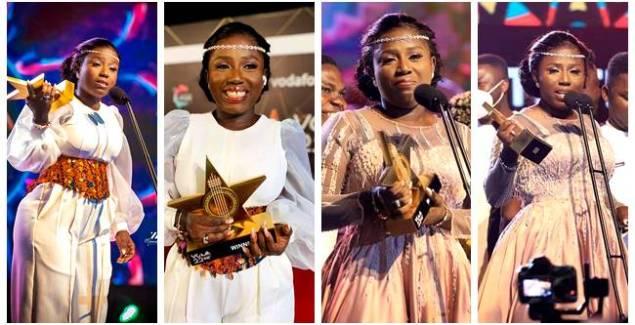 VGMA22: Diana Hamilton beats KiDi, Sarkodie, others to Win Artiste of the Year
