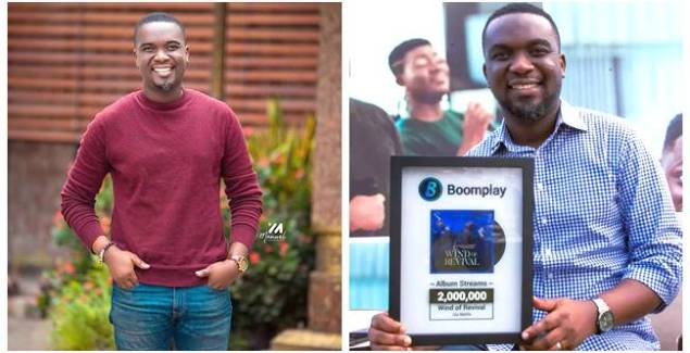 Joe Mettle Receives Boomplay Award for Over 2 Million Streams of 'Wind of Revival' Album