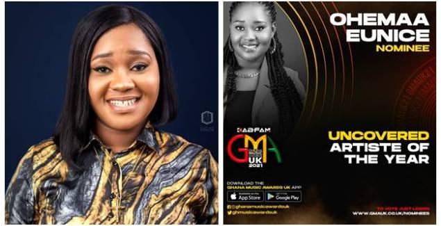 Ghanaian Gospel Powerhouse, Ohemaa Eunice Grabs GMA-UK Nomination
