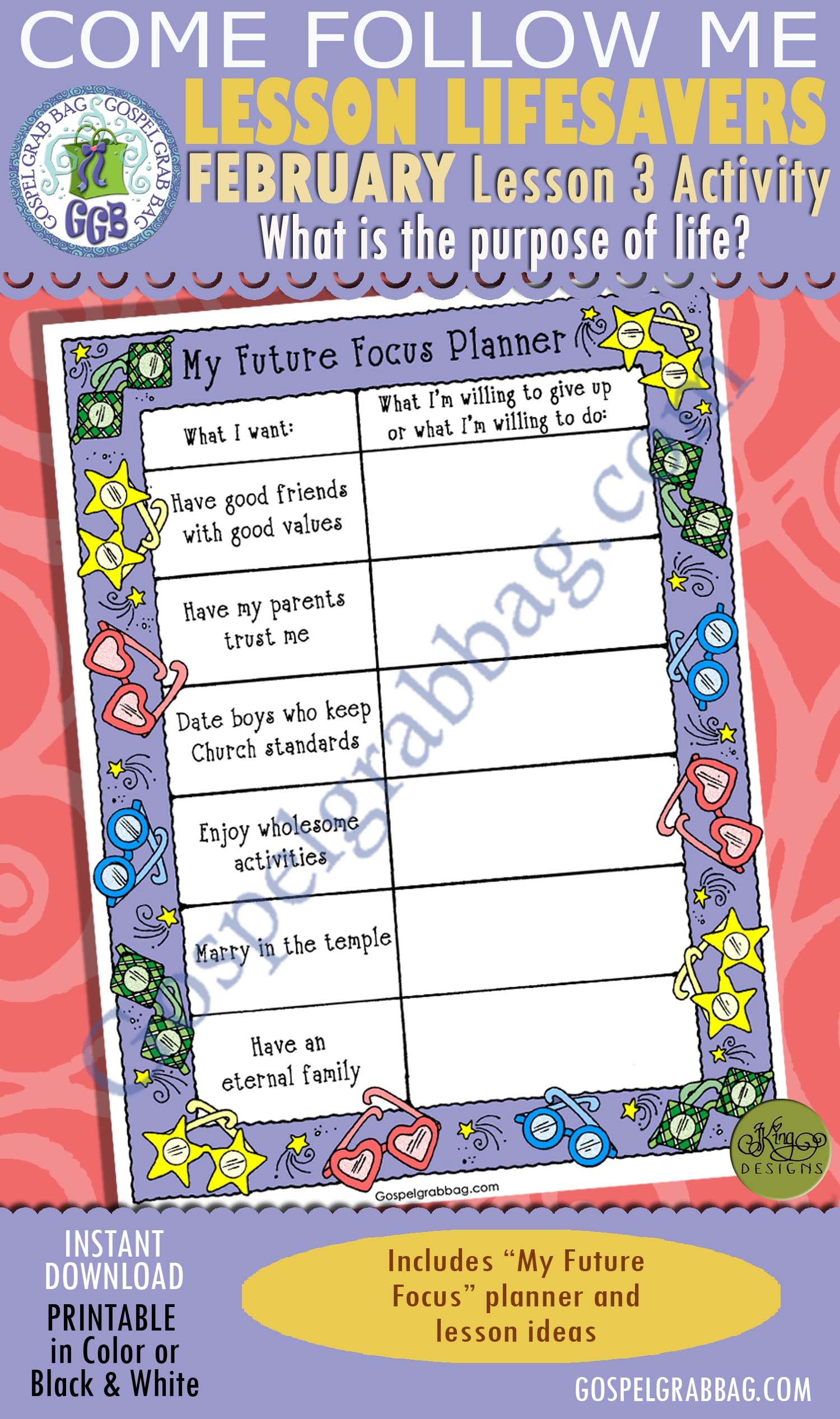 Plan Of Salvation Lds Lesson Activity