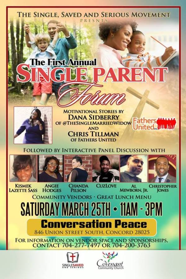 The Single, Saved and Serious Movement - Christian Event