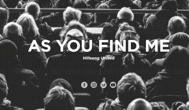 DOWNLOAD MP3] hillsong - As You Find Me [+Live Video
