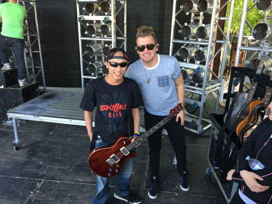 NEWS: Make-A-Wish® Rocks With Skillet - The Gospel Music