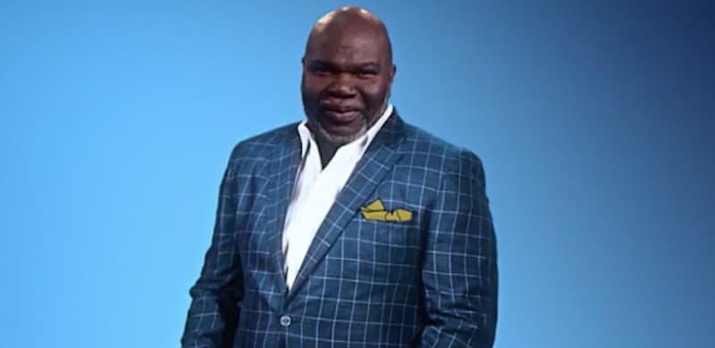 "NEWS: Empowering New Daily Talk Show ""T D  JAKES"" Set"