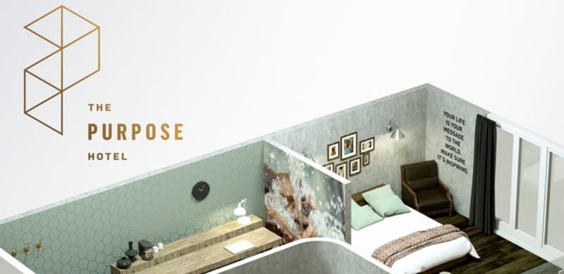 NEWS: Revolutionizing Hospitality, The Purpose Hotel™ Sets Out To ...