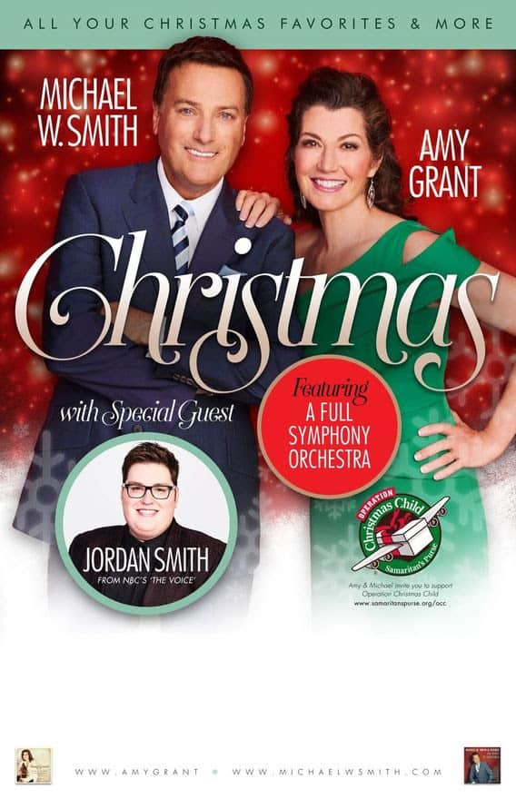 NEWS: Over 130,000 Celebrate Christmas With Amy Grant, Michael W ...