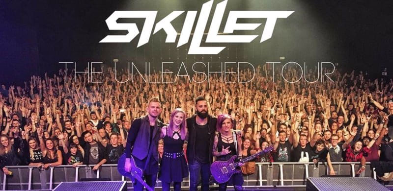 NEWS: Skillet Announce The Second U S  Leg Of The