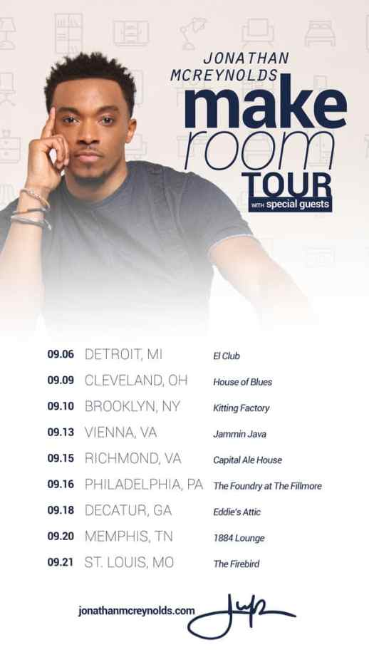 Jonathan Mcreynolds Announces Dates For Fall Tour The