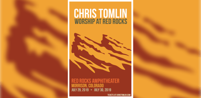 Chris Tomlin Back To Headline Two Nights At Red Rocks July 29 30