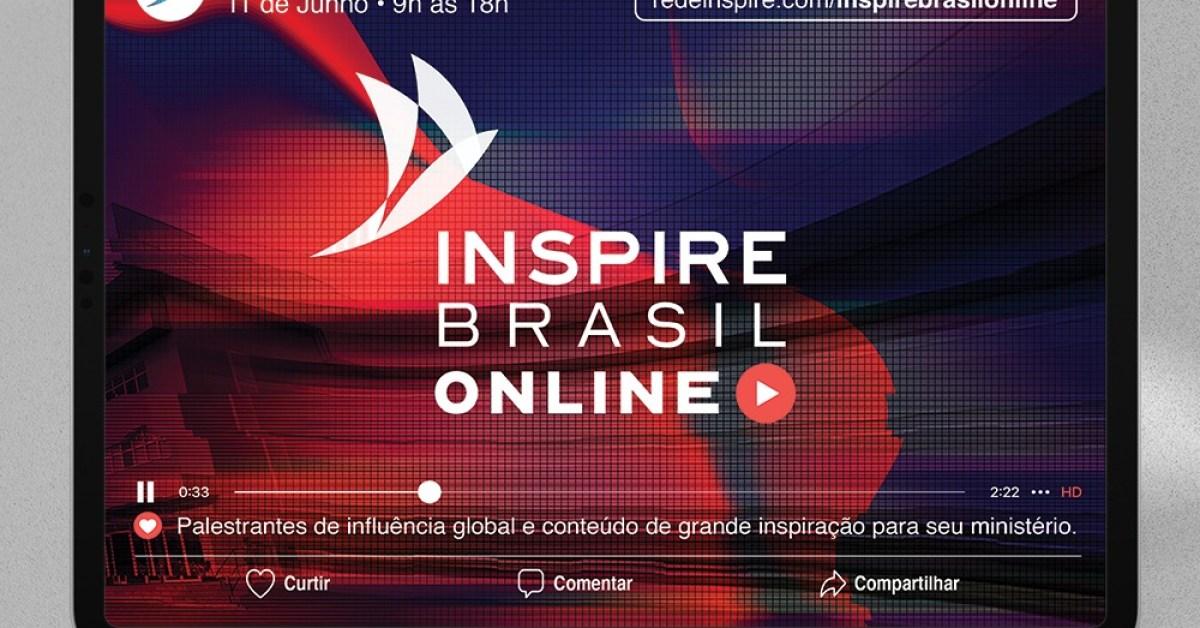 Inspire Brasil Online reúne pastores para falar sobre igreja e liderança