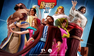 Bible Heroes Game