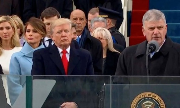 Donald Trump e Franklin Graham White House