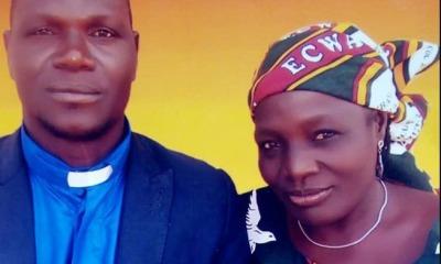 pastor Alubara Audu e esposa