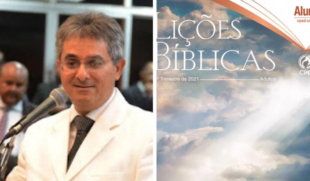 Pastor Roberto José dos Santos e evista da Escola Dominical