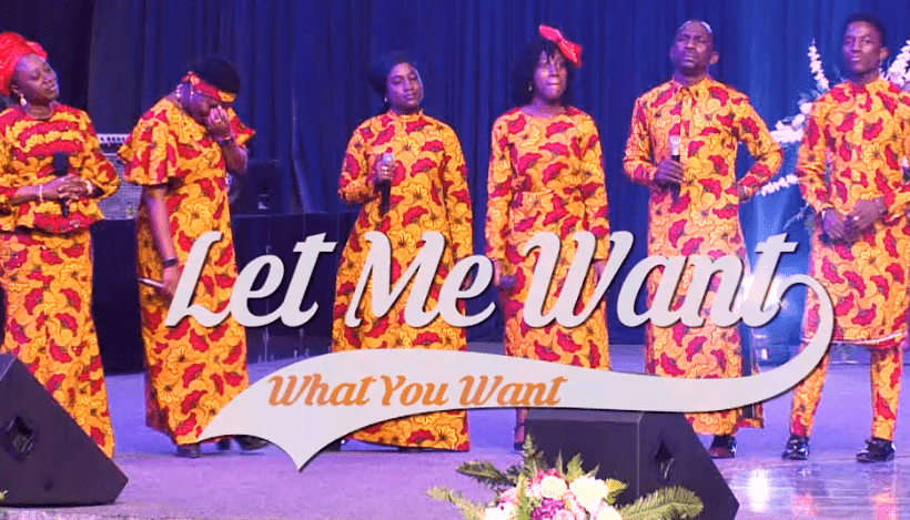 LET ME WANT WHAT YOU WANT MP3 DOWNLOAD By Dr Paul Enenche
