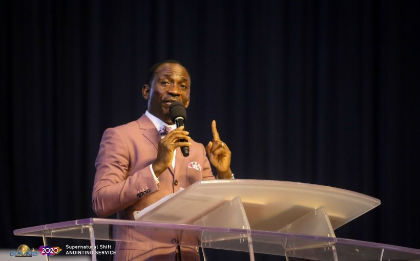 Oh Lord Please Don't Let Me Stray by Dr Paul Enenche