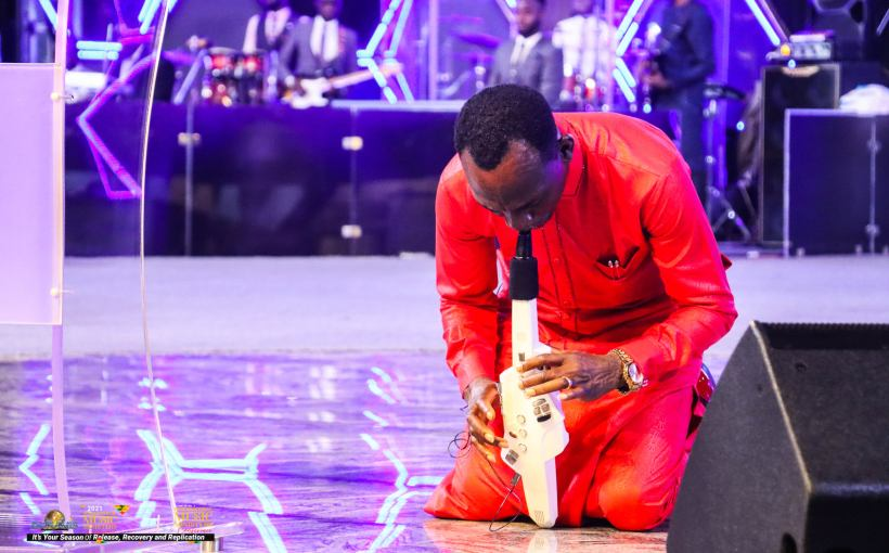 Ministering With The Oil Message mp3 By: Dr Paul Enenche