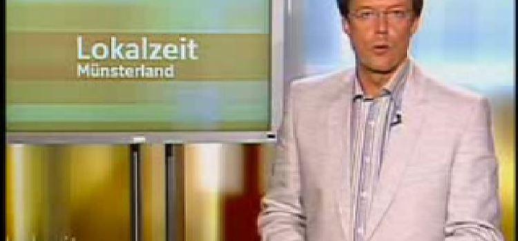 Jubiläumskonzert 2008 in der WDR-Lokalzeit