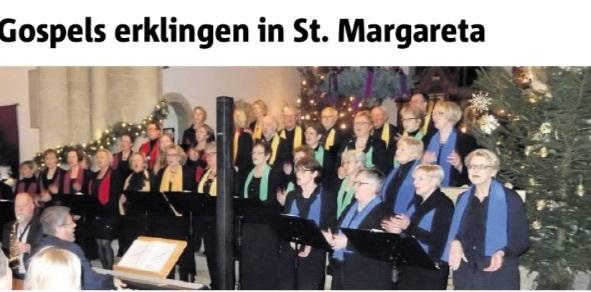 """Ankündigung """"Weihnachtskonzert"""" in Asbeck 2015"""