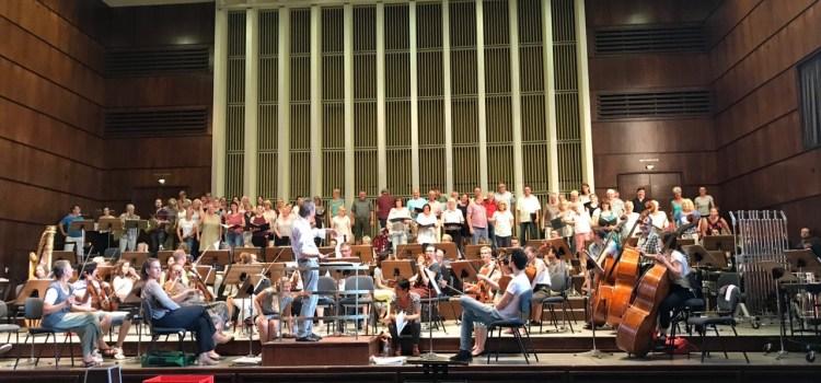 Filmmusik Gottes II – Generalprobe mit den Bielefelder Philharmonikern in der Rudolf-Oetker-Konzerthalle