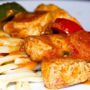Vermilion Chicken Pasta