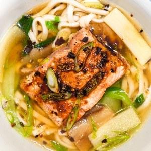Edo Salmon Noodle Soup