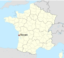 Image result for royan map