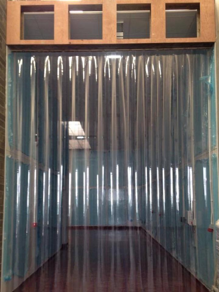Clear PVC Strip Curtains  Goss Flyscreens