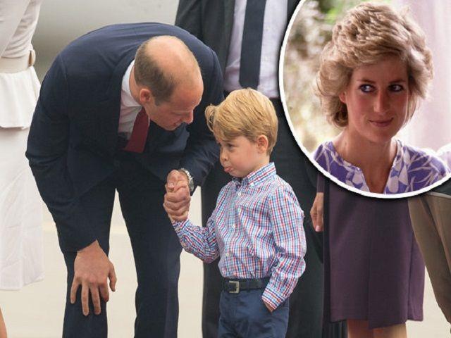 Il Principe William rivela il figlio George ha la stessa passione di Lady Diana