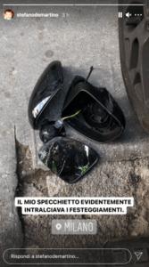 Stefano De Martino macchina