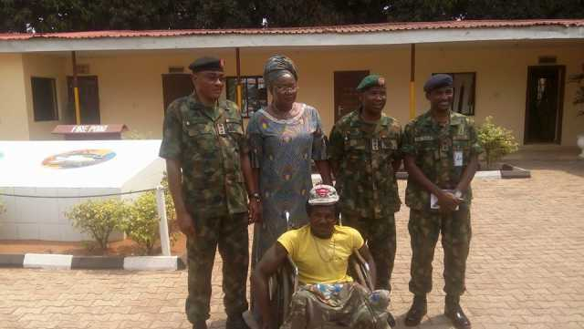 Image result for soldiers who brutalised cripple in onitsha