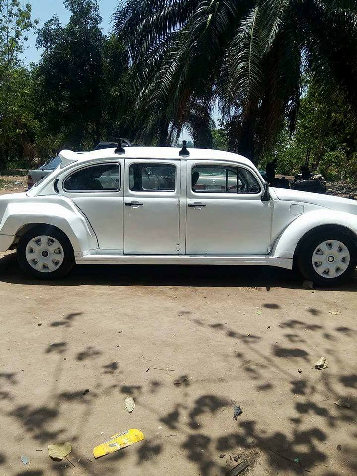 isa2 - Nigerian Man Redesigns A Beetle Tortoise Car Into A Rolls Royce [Photos]