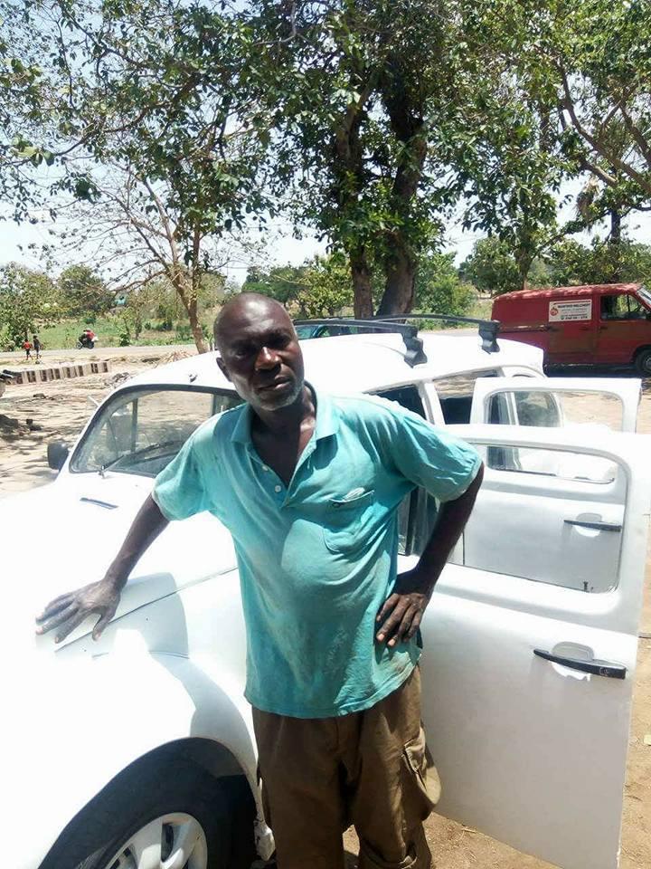 isa5 - Nigerian Man Redesigns A Beetle Tortoise Car Into A Rolls Royce [Photos]