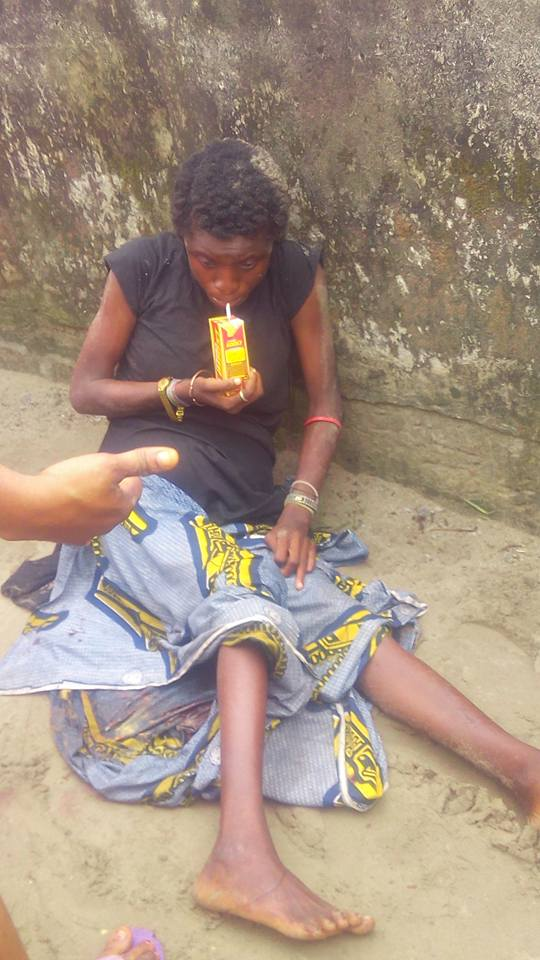 mad3 - Mentally Challenged Woman Delivers A Beautiful Baby Girl In Rivers State