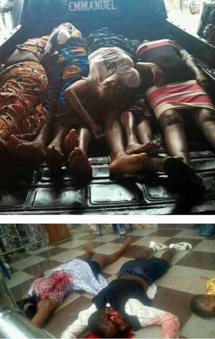 Unknown Gunmen Storm Catholic Church, Many Killed in Anambra