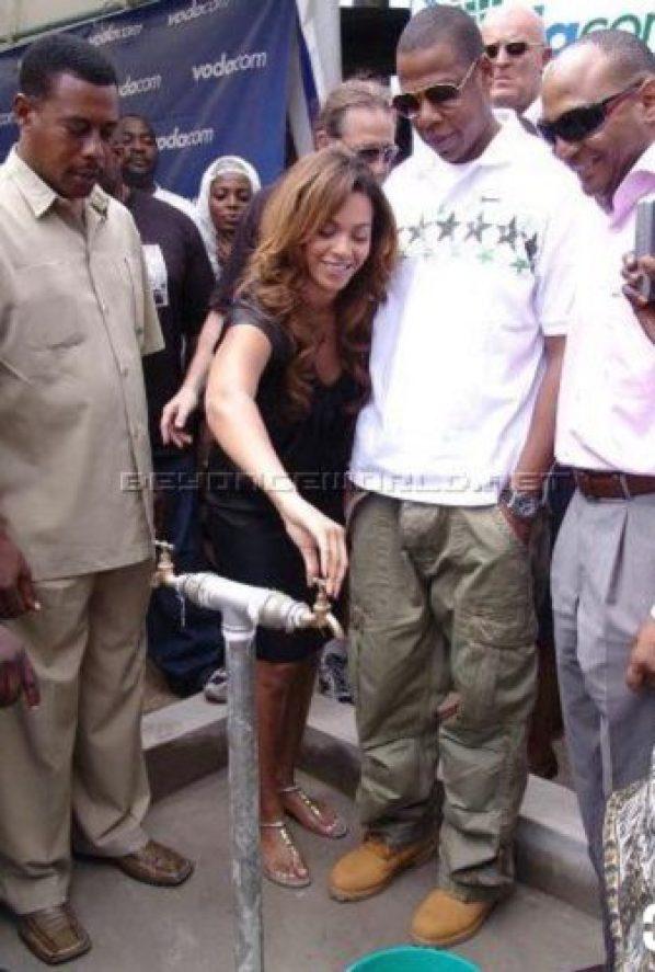 Jay Z visit Africa
