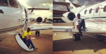 "davidop1 500x255 - I AM THE YOUNGEST GUY IN THE WORLD TO BUY HIS OWN PRIVATE JET"" Davido Brags again!"