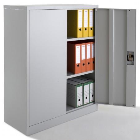 armoire a portes battantes monobloc h120xl92xp40 cm