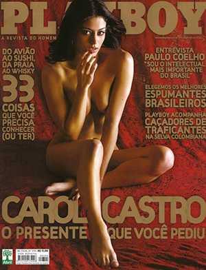 Carol Castro Nua Playboy